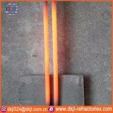 Double élément de chauffe spiralé réfractaire de carbure de silicium