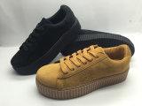 Hot Vente de chaussures en cuir confortables chaussures de toile (6083)