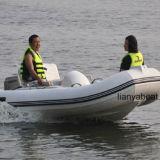 Barco do reforço da venda do barco do esporte do barco do lazer de Liya 3.3m mini