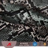 부대를 위한 합성 가죽 가짜 가죽을 돋을새김하는 도매 PVC Snakeskin