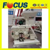 Mini máquina horizontal gemela del mezclador concreto del eje de Js500 0.5m3 para la venta