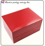 Opslag Box Boite DE Montres GR Reloj DE Uhrenbox van de Vertoning van de Verpakking van het Horloge van het Geval van het leer de Houten Caixa DE Reló Gio (Sy01)