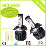 Фара V16 автомобиля СИД наивысшей мощности освещения высокого люмена автоматическая