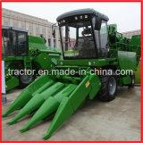 Tres filas cosecha Mechine, maíz cosechadora autopropulsada Harvester (4yz-3C)