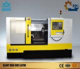 CNC van het Bed van de Helling van het Systeem van Fanuc van Ck63L Draaiende Draaibank