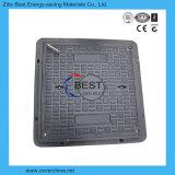 En124 D400 SMC 600X600mm 하수구 손잡이 맨홀 뚜껑