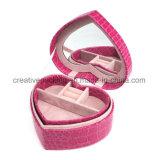 Rectángulo de joyería rosado de la manera del color