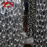 Breve catena a maglia galvanizzata metallo