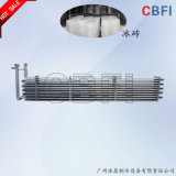 Macchina del ghiaccio in pani dell'evaporatore del tubo della bobina di risparmio di potere