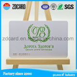 Priorità bassa d'argento di stampa del PVC con le schede impresse di numero