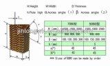 Estufa/aves domésticas 7090/5090 de almofada molhada refrigerar evaporativo da cortina