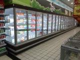 Glastür-Kühlräume
