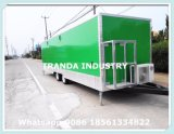セリウムの高品質の食糧トラックの移動式食糧トレーラーのケイタリングのトレーラー