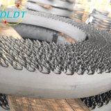 Aço de alta velocidade M42 dentes de aço endurecido as lâminas de serra de fita de aço e metais de Corte