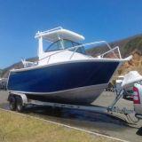 Яхта рыбацкой лодки спорта путешествия горячего сбывания высокоскоростная алюминиевая