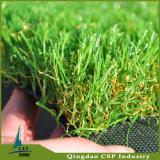景色の人工的な庭の芝生の合成物質の泥炭
