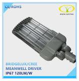 Meanwell conductor 50W 150W 200W Lámpara de LED de luz de la calle de la autopista