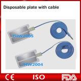 Plaat van de Stootkussens van de Elektrode van het silicium de Rubber Opnieuw te gebruiken Geduldige