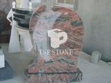 Pietra nera granito/del marmo per il monumento/lapide/pietra tombale/memoriale/Headstone/mausoleo/la lapide di scultura per qualità dell'Ue (gg002)