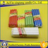 El color amarillo Candle-Colorful Bougies Velas Velas
