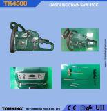 L'essence 45cc de scie à chaîne avec la certification CE