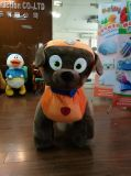 animal recreation park wrinkles battery because electric riding plush toy wrinkle