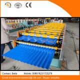 Rodillo de la capa doble del panel de la azotea de África que forma la máquina