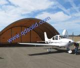 Gran estructura de acero resistente al agua Hangares de aviones