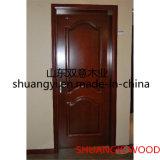 経済的な内部の木の四捨五入されたMDF/PVCのドア