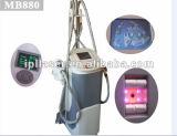 Potente aspirador de rodillo de succión / RF / infrarrojos máquina de forma láser