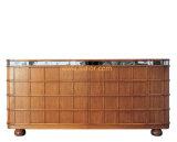 (CL-7713) Tabella di sezione comandi di legno della mobilia dell'ingresso della villa del ristorante dell'albergo di lusso