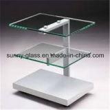 10mm 8mmの端作業磨かれた緩和された棚ガラス