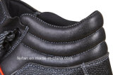 Pattino di sicurezza del rivestimento della maglia del pattino/aria di sicurezza del cuoio di grano