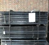 1650mm 강철 검술 Y 포스트 또는 까만 가연 광물 강철 별 말뚝