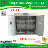 Incubateur automatique approuvé d'oeufs de Digitals de la CE (de 2816 oeufs)