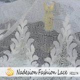 Новая конструкция комфортабельные элегантные Organza моды кружевной ткани