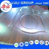 Tür-Haut des Furnier-Blattmelamin-HDF von der Luli Gruppe