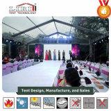 Novo design claro parte transparente da Capota de Lona para Desfile de Moda