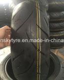 Zonder binnenband die Band 120/7017 van de Motorfiets in China wordt gemaakt