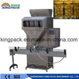Gránulo/polvo/grano/arroz/habas/leche en polvo completamente automático/llenador Nuts/que pesa la empaquetadora de relleno