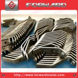 Suporte de dobra da tubulação de alumínio do aço inoxidável do metal do OEM