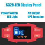 generatore portatile 150wh della casa della pila solare della batteria di litio 20With30W