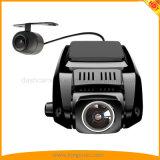 "2.4 "" FHD 1080Pのダッシュのカメラの前部170および後部夜間視界の120度の広角レンズ"