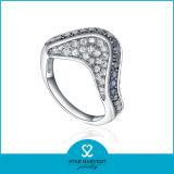 Zafiro CZ joyas de moda el anillo (SH-R0292)
