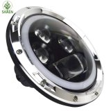 Indicatore luminoso dell'automobile di H/L IP67 LED per il pollice 6500K-7000K della jeep 60W 7
