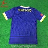 Vêtements de sport de sublimation de qualité de T-shirt de formation pour l'homme
