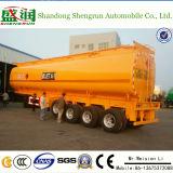 4 de Tanker van de Stookolie van het Vervoer van de Aanhangwagen van de Tank van het Roestvrij staal van de Levering van de Fabriek van assen