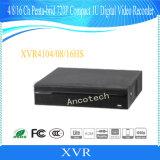 Dahua 16チャネルのPenta-Brid 720pコンパクトな1u CCTVのレコーダー(XVR4116HS)