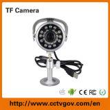 El tiempo al aire libre IR a prueba de cámara CCTV de la bala con ranura para tarjeta TF