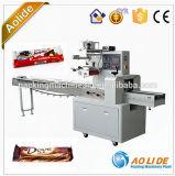Totalmente automático de alta velocidad de flujo de Chocolate Mini Precio Máquina de embalaje